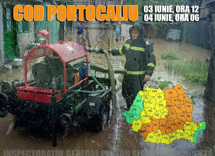 Cod Portocaliu ISU